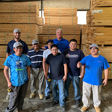 woodshop team